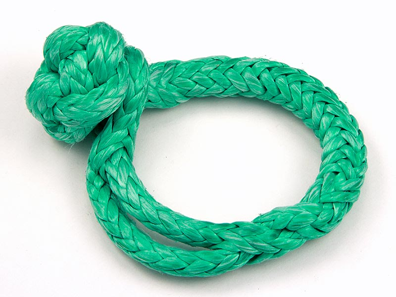 "3/16"" Soft Shackle, Green"