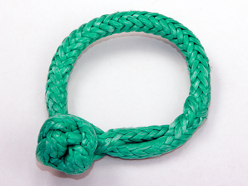 "1/8"" Soft Shackle, Green"